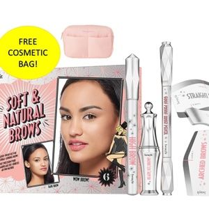 Benefit Soft and Natural brows kit 4 pc Deep #6